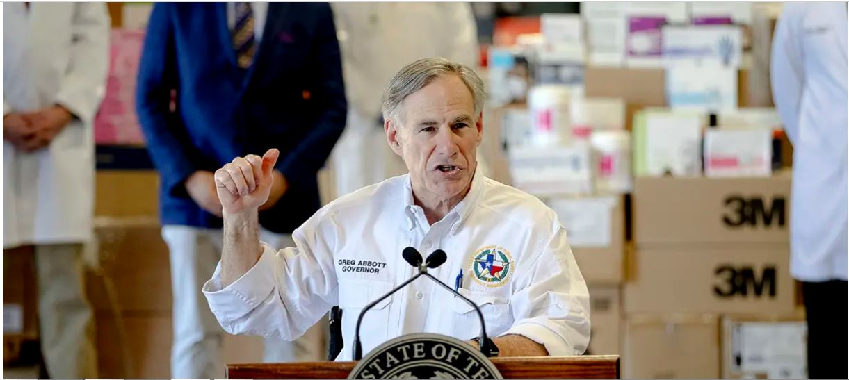 Texas expands travel restrictions, launches pop-up hospital as coronavirus spreads