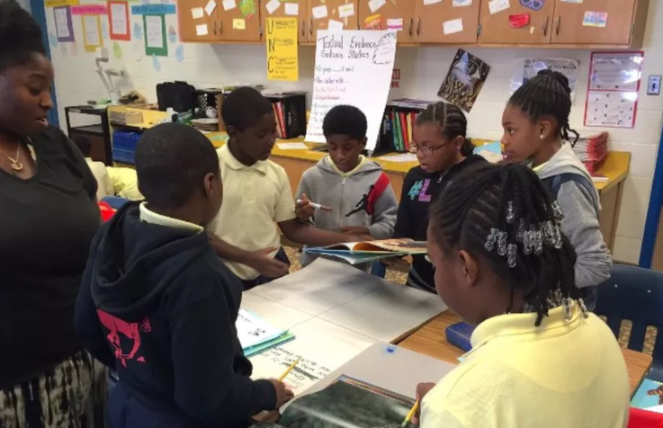 This top-rated black teacher may lose her job over one test. Are 'high standards' working?