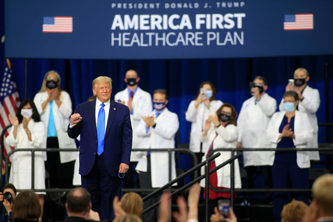 Promises Kept? On Health Care, Trump's Claims of 'Monumental Steps' Don't Add Up