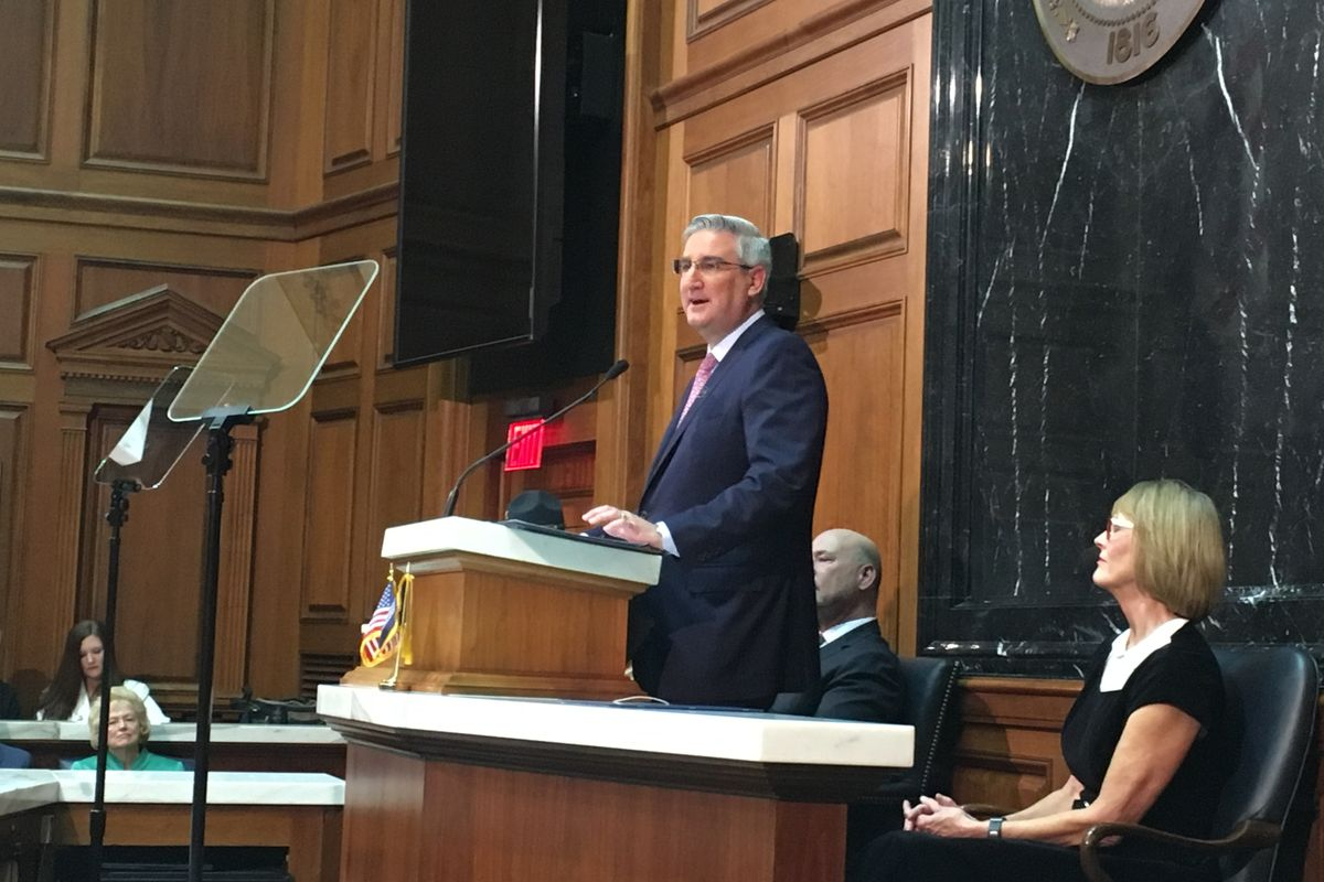 Holcomb's education agenda looks to address teacher pay, unfunded mandates in 2021