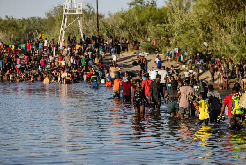 A Haitian migrant's harrowing journey to the Texas-Mexico border